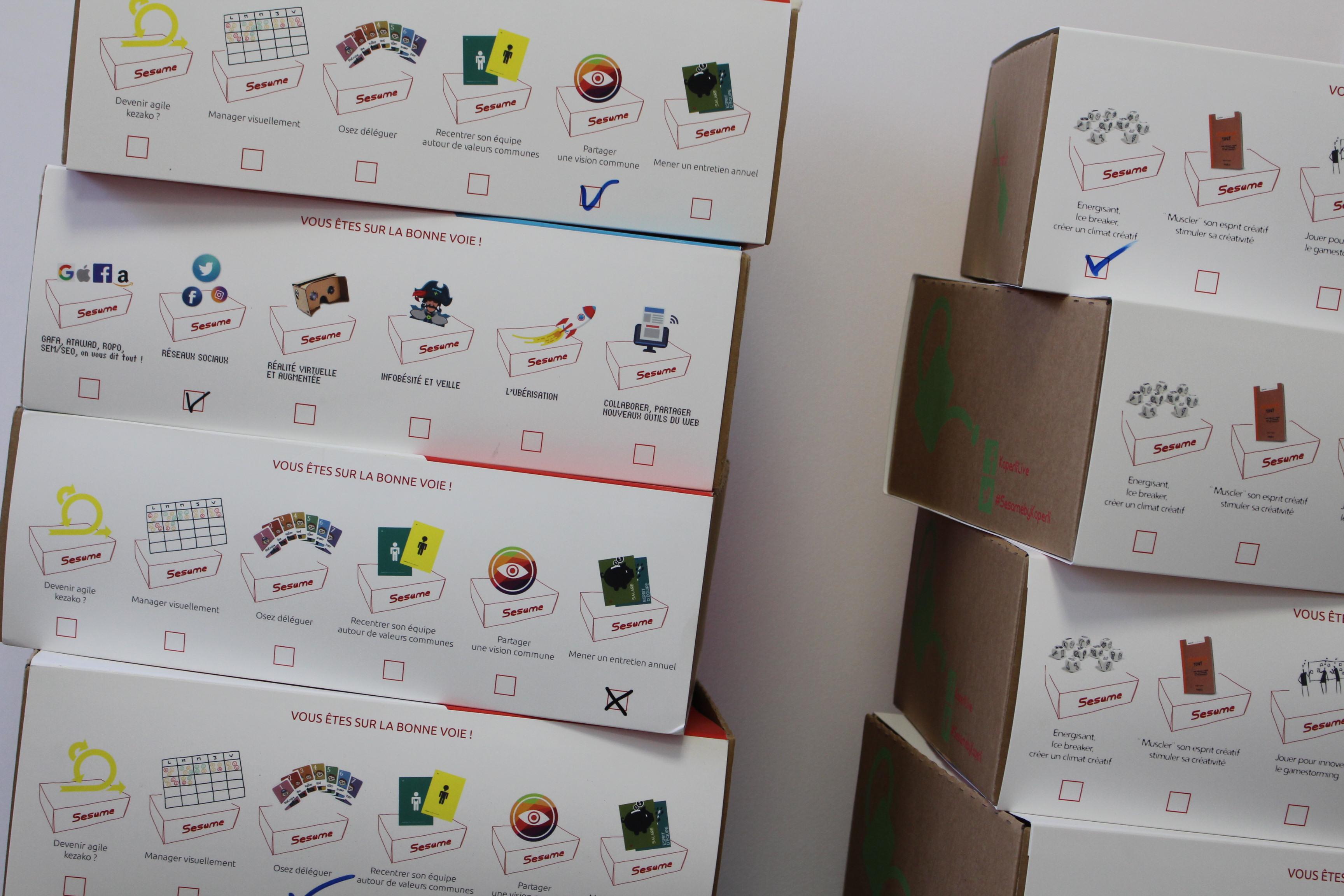 Quels objectifs pédagogiques pour nos Sésames box ?