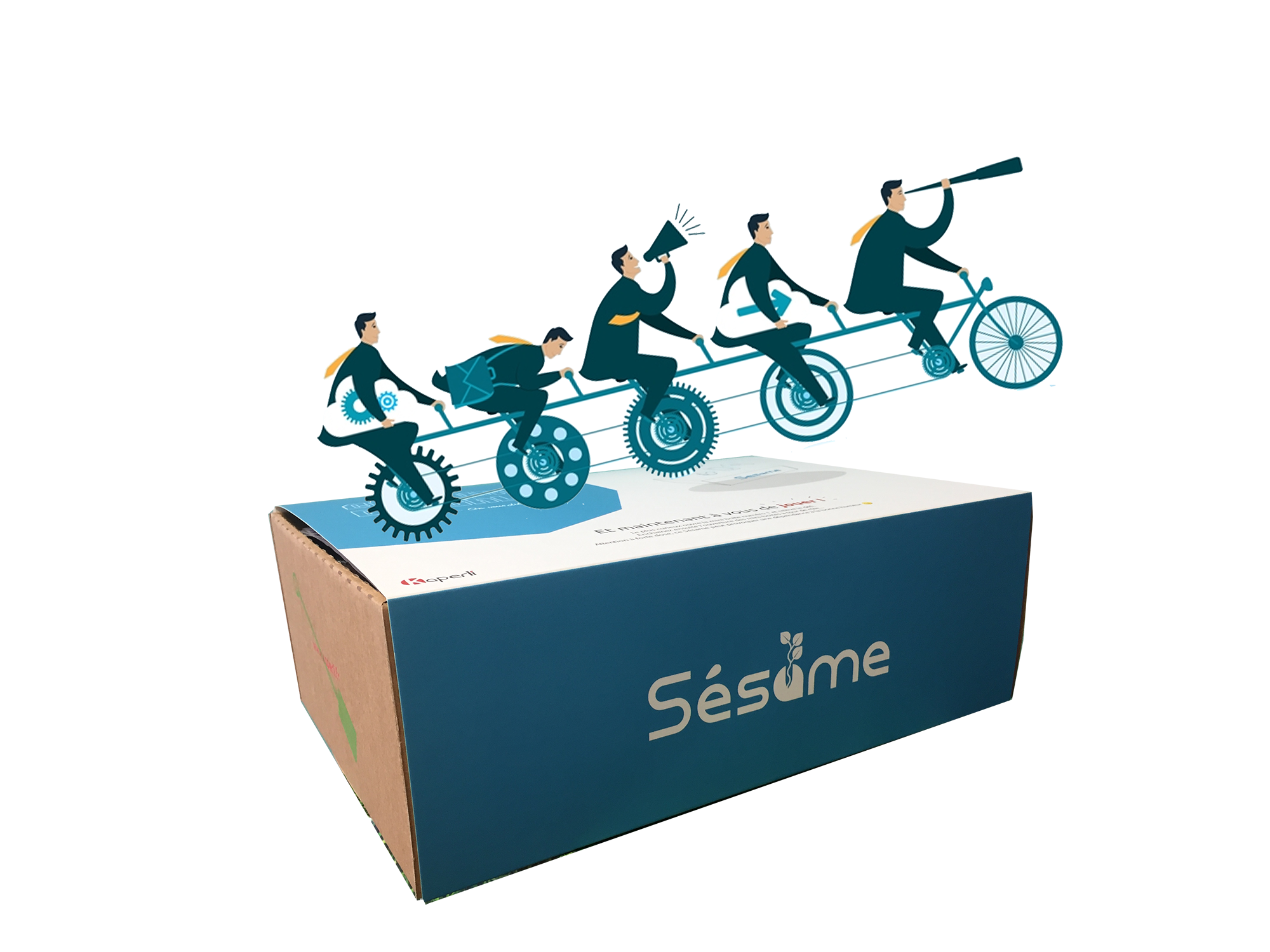 Sésame box : Collaborer avec le digital