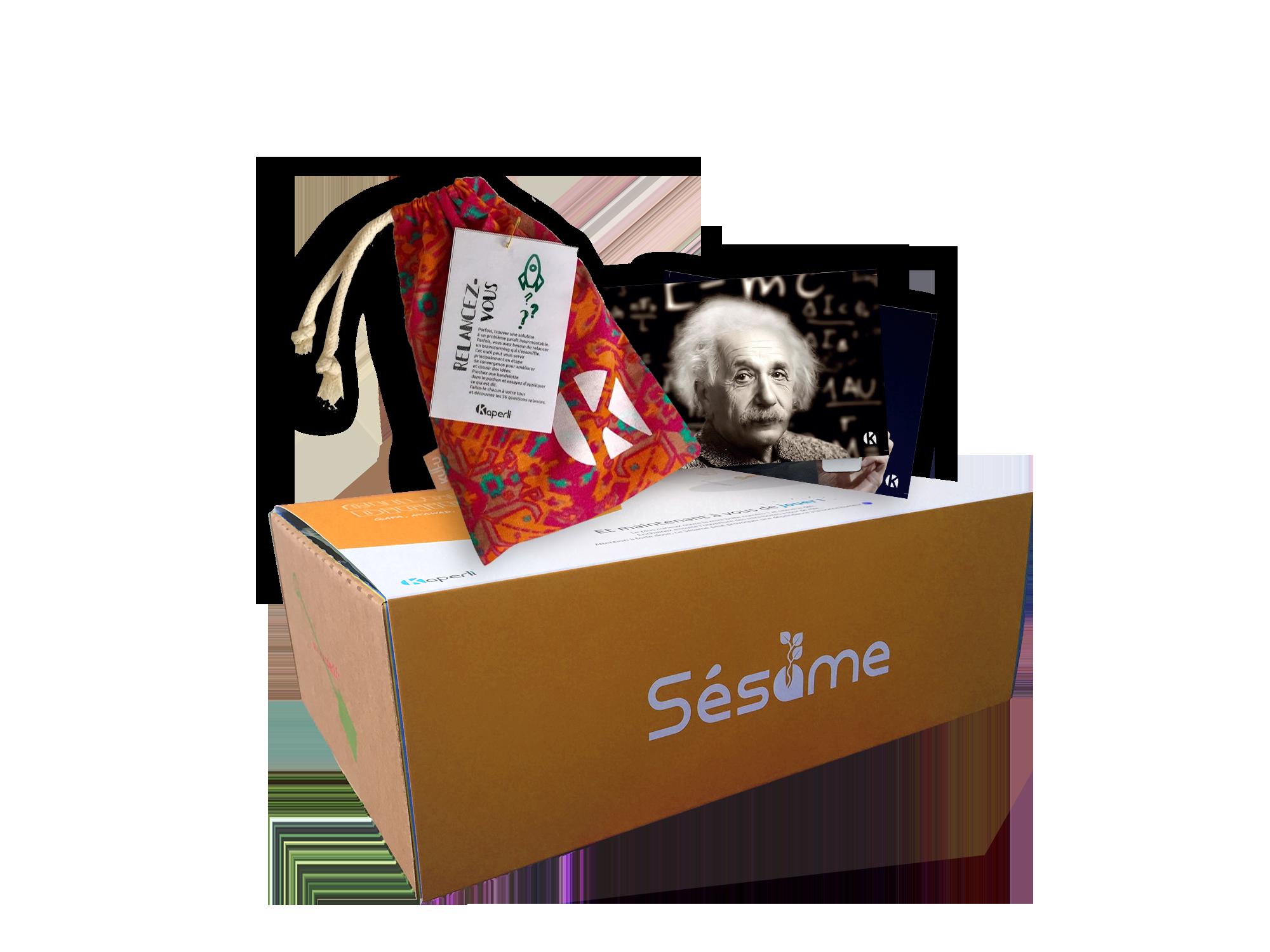 Sésame box créativité – CPS Creative Problem Solving
