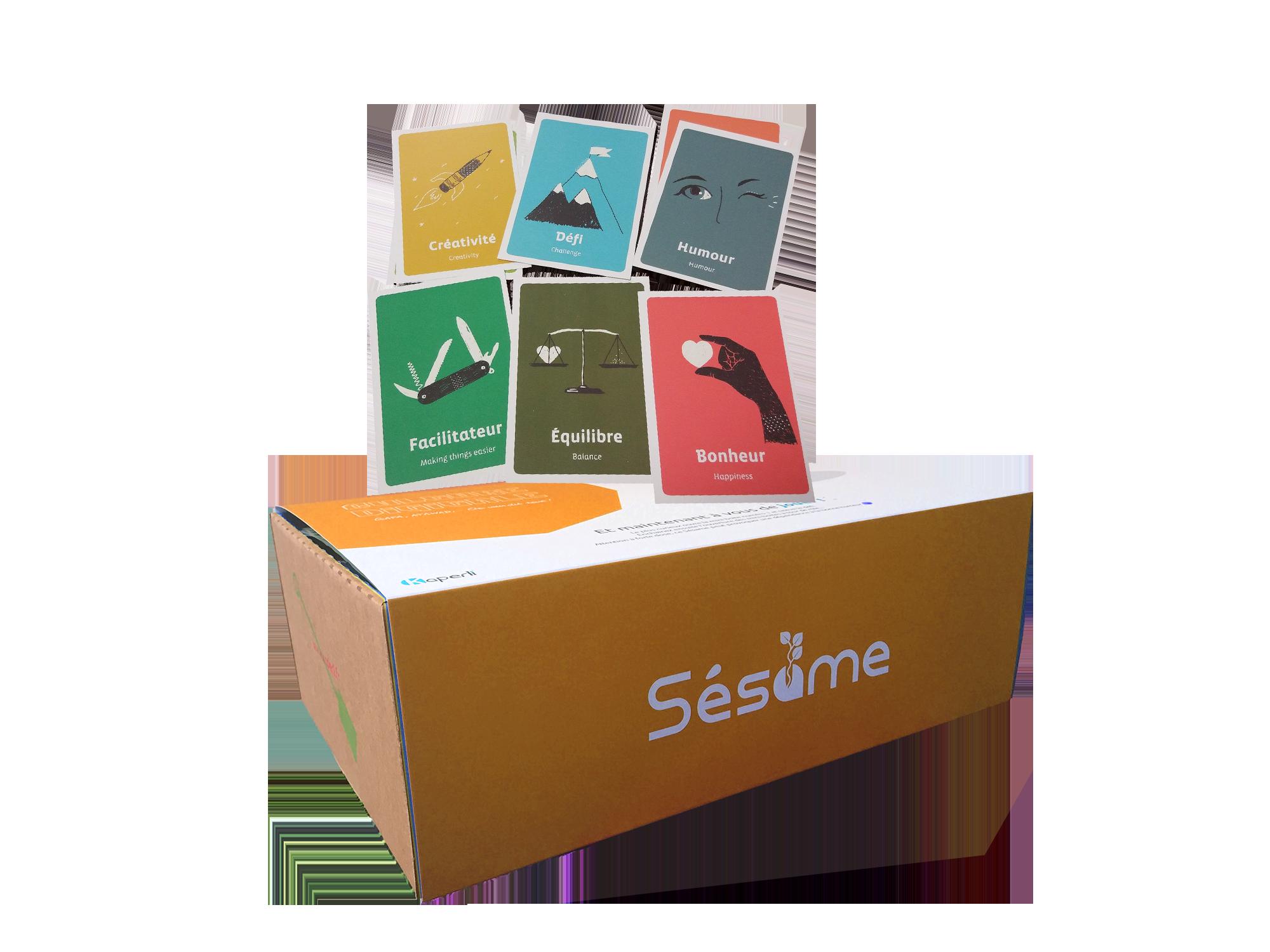 Sésame box créativité – Jouer pour innover : le gamestorming