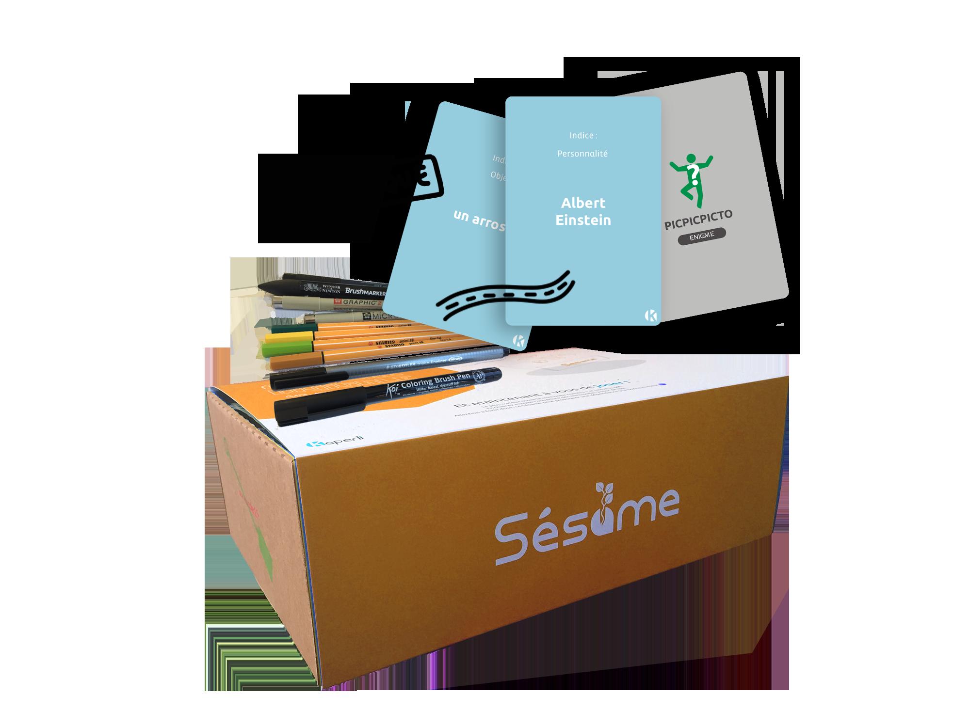 Sésame box créativité – Sketchnotes : la pensée visuelle dans une prise de notes