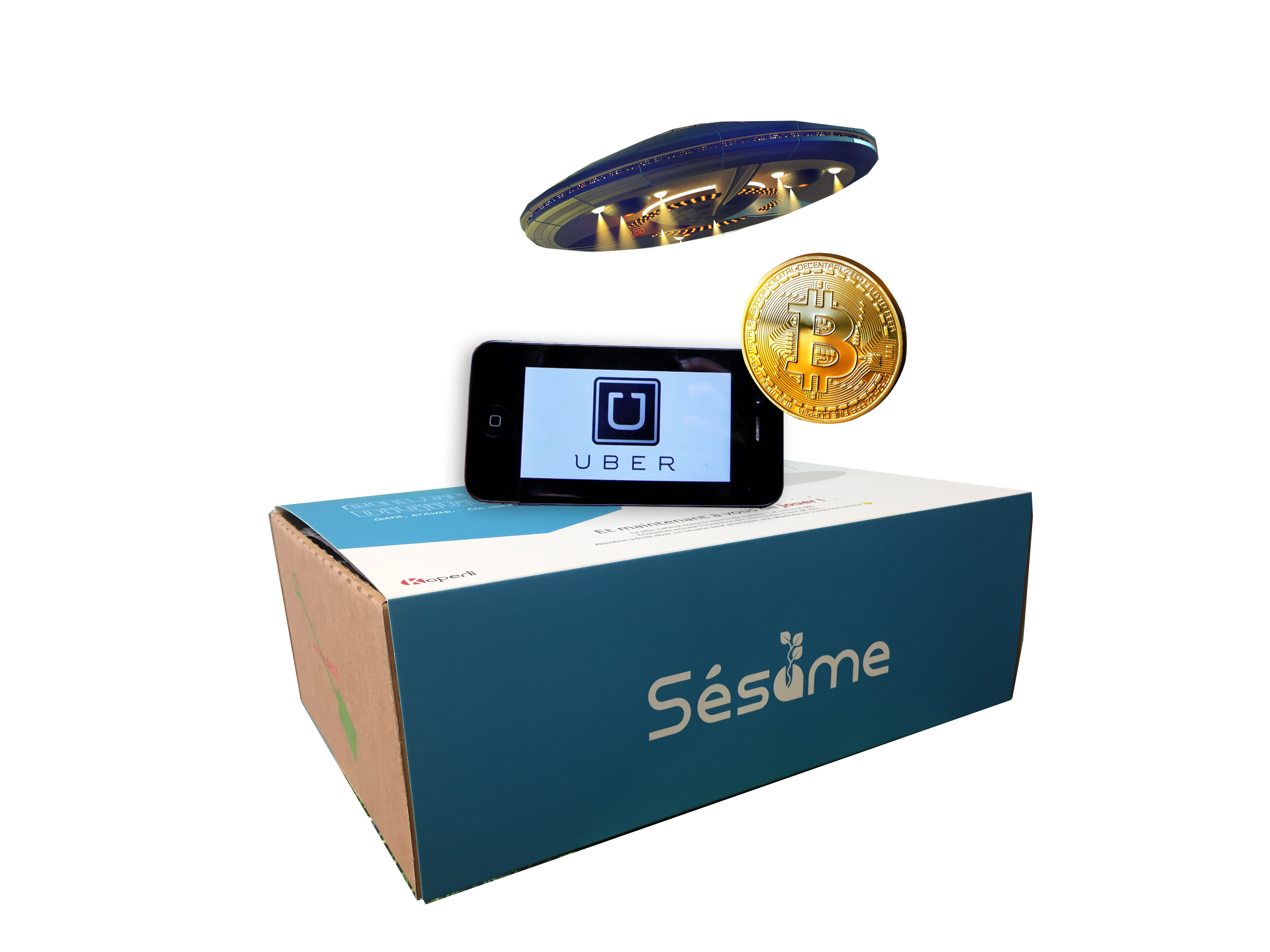 Sésame box culture digitale – Ubérisation, Blockchain, Bitcoin