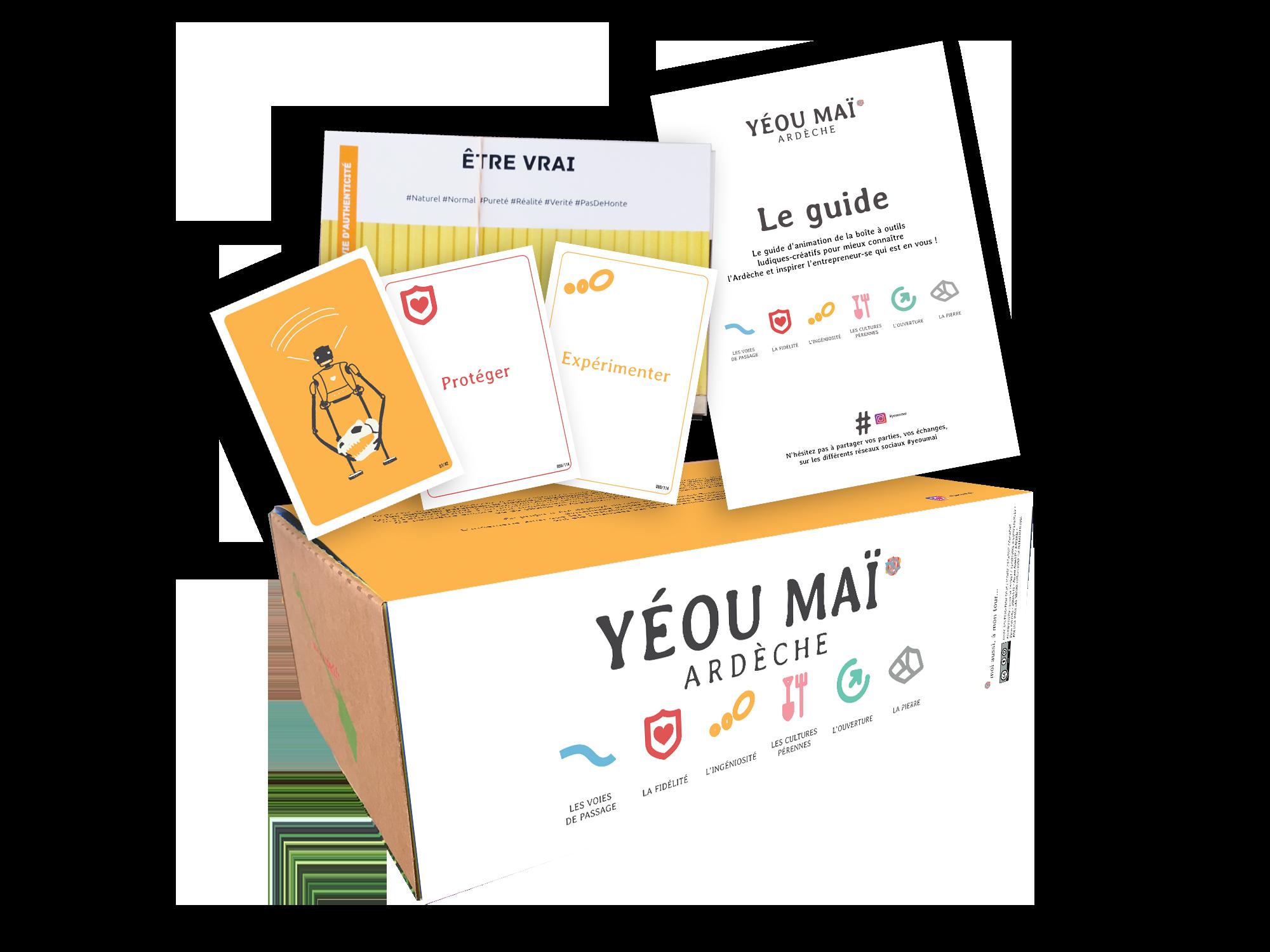 Yéou Maï – la boîte à outils ludiques-créatifs