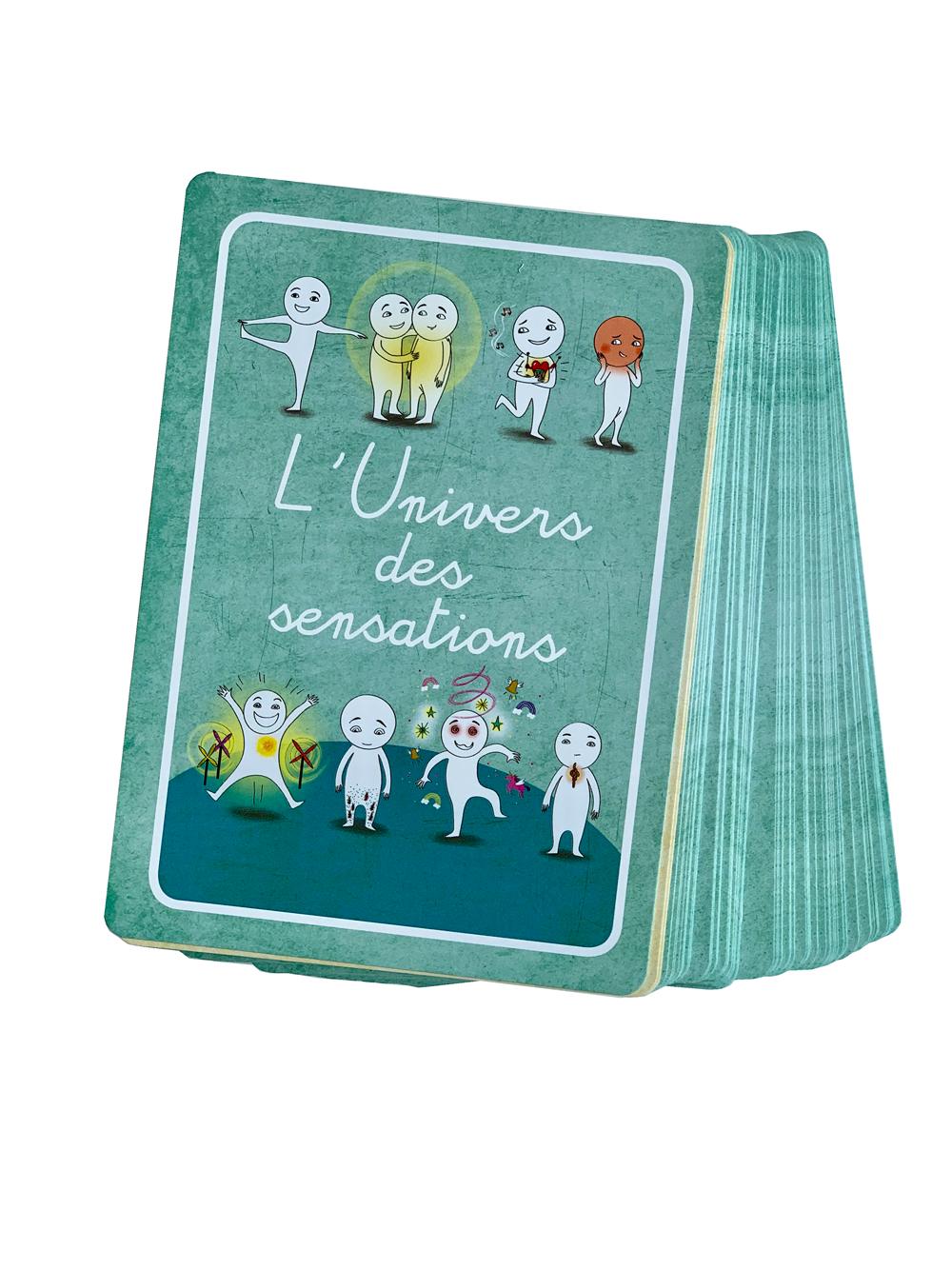 Jeu de cartes L'univers des sensations