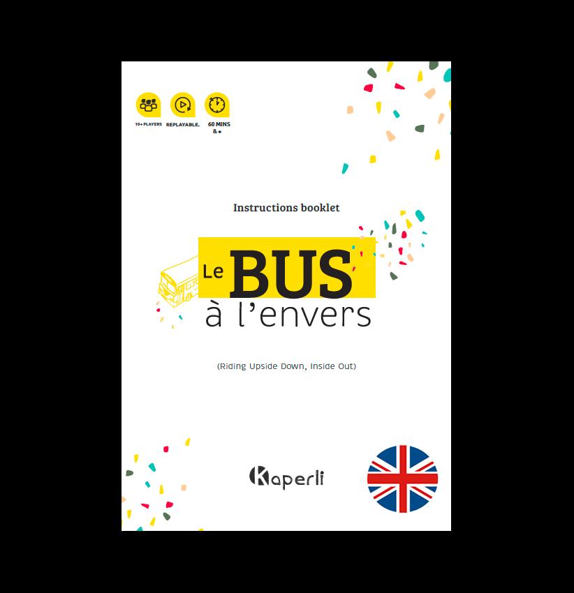 Instructions booklet – Bus à l'envers (version EN)