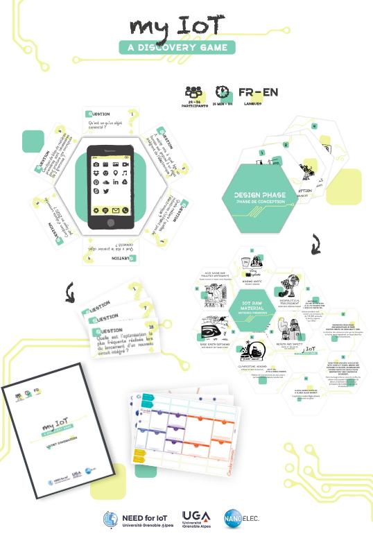 Sensibiliser aux enjeux des micro et nano technologies – My IoT est un jeu sérieux